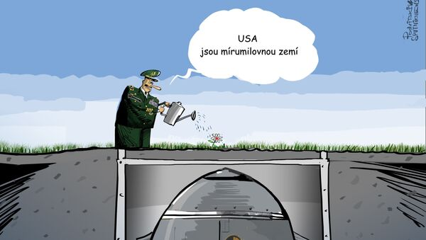USA jsou mírumilovnou zemí - Sputnik Česká republika