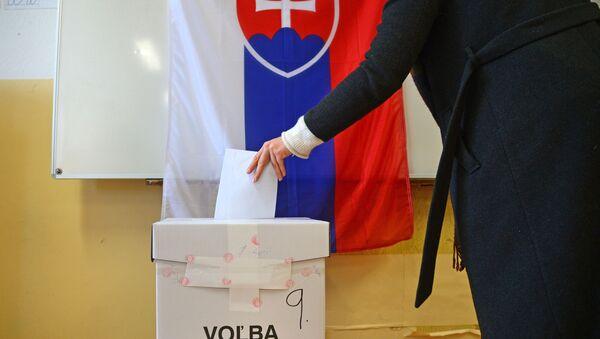 Volby na Slovensku - Sputnik Česká republika