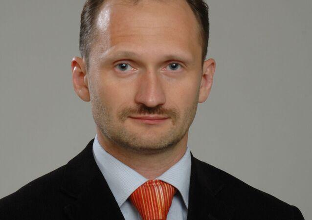 Poslanec Evropského parlamentu za Lotyšsko Miroslav Mitrofanov