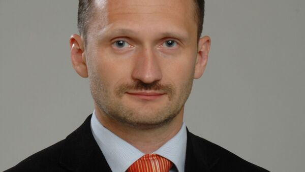 Poslanec Evropského parlamentu za Lotyšsko Miroslav Mitrofanov  - Sputnik Česká republika