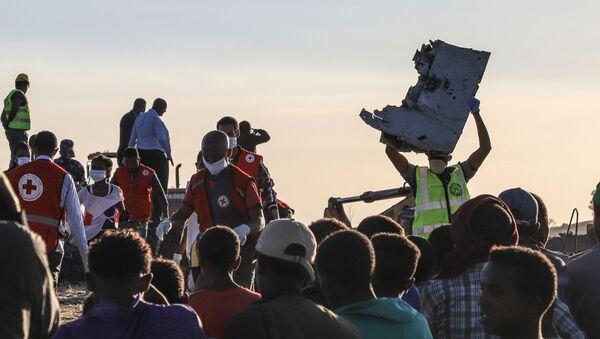 Katastrofa Boeing 737 MAX v Etiopii - Sputnik Česká republika