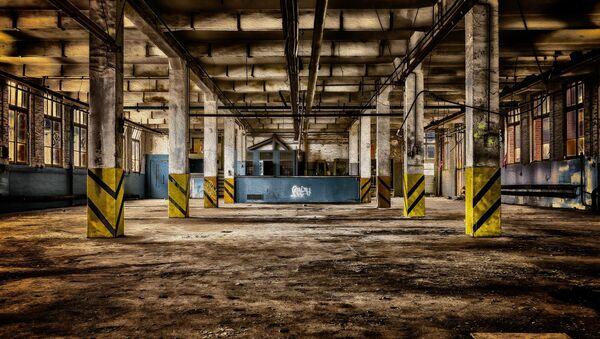 Budova bývalé fabriky. Ilustrační foto - Sputnik Česká republika