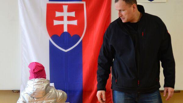 Prezidentské volby na Slovensku - Sputnik Česká republika