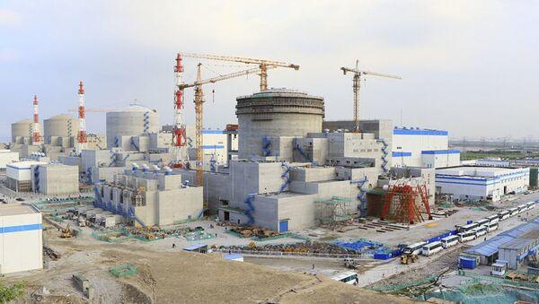 Stavba jaderné elektrárny Tianwan-2 v Číně - Sputnik Česká republika