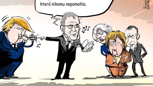 Trumpův koncert - Sputnik Česká republika