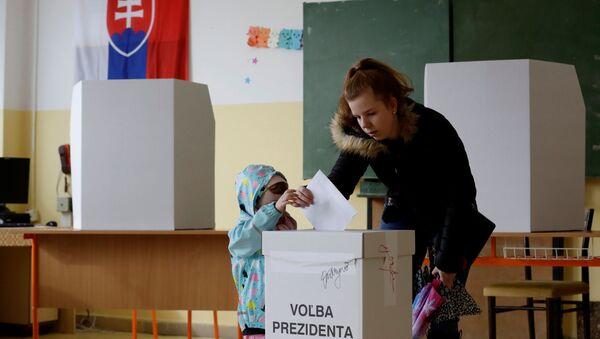 Volby prezidenta na Slovensku - Sputnik Česká republika