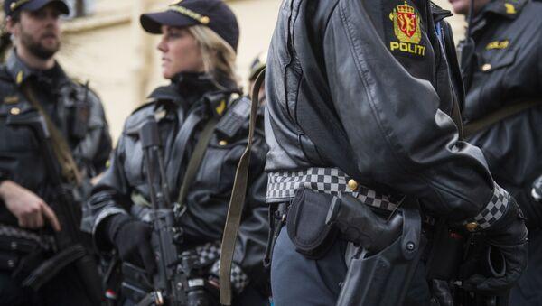 Policie, Norsko. Archivní fotografie - Sputnik Česká republika