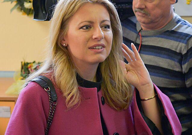 Nová slovenská prezidentka Zuzana Čaputová