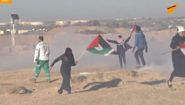 Šokující video! Krutý útok Izraele: 13 zraněných při námořním protestu v Pásmu Gazy - Sputnik Česká republika