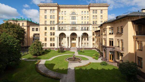 Budova českého velvyslanectví v Moskvě - Sputnik Česká republika