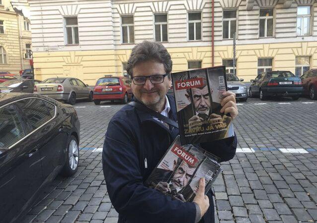 Šéfredaktor portálu Forum24 Pavel Šafr
