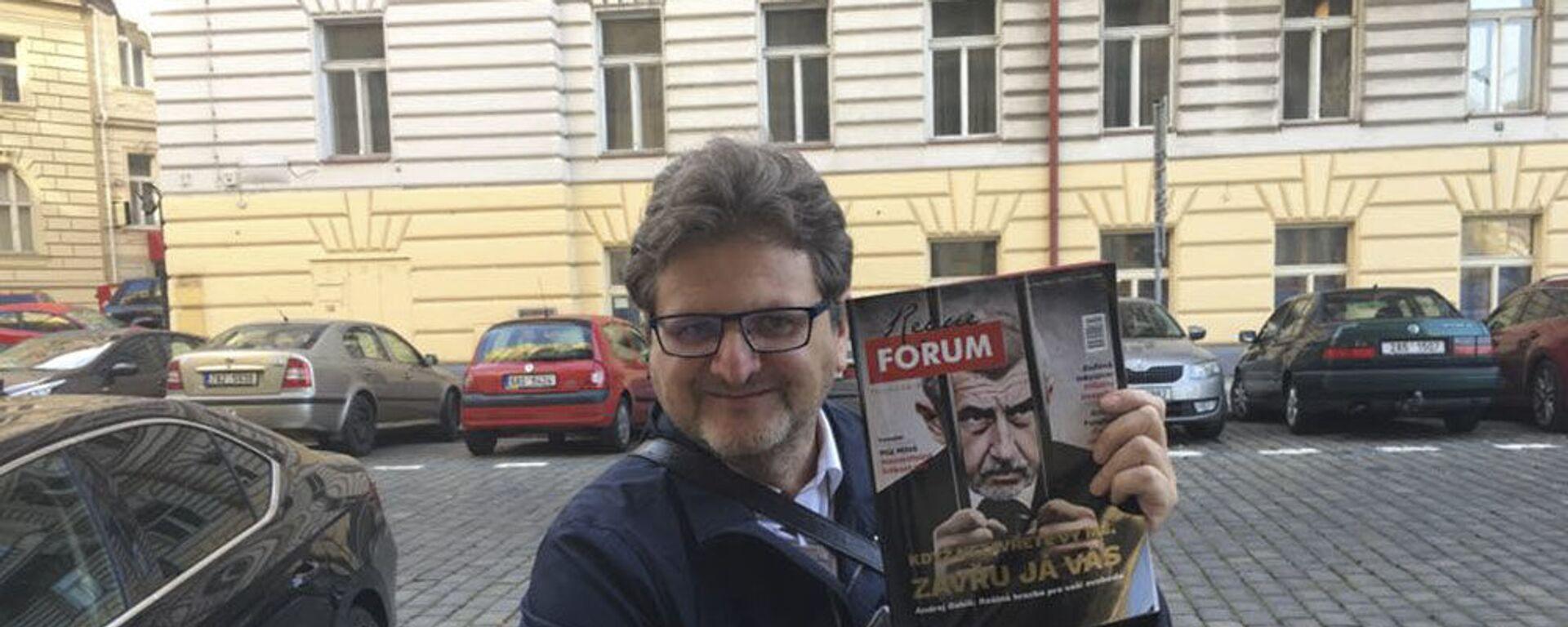 Šéfredaktor portálu Forum24 Pavel Šafr - Sputnik Česká republika, 1920, 03.06.2021