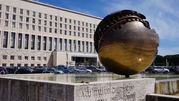 Ministerstvo zahraničí Itálii - Sputnik Česká republika