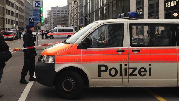 Automobil švýcarské policie. Ilustrační foto - Sputnik Česká republika