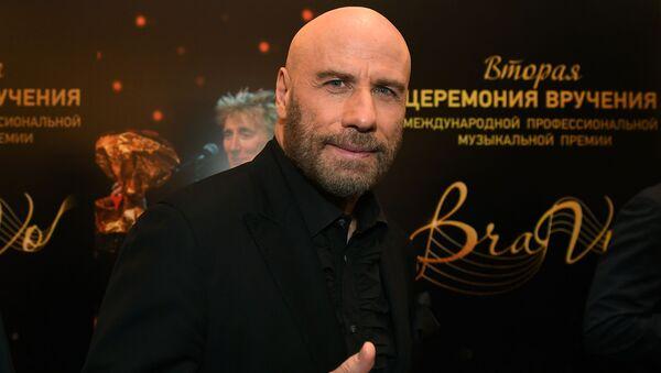 Americký herec John Travolta - Sputnik Česká republika