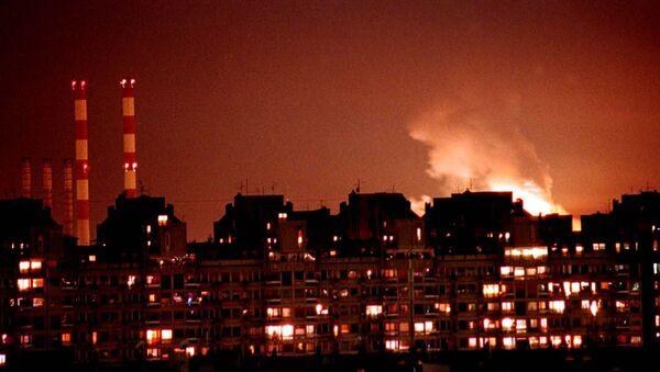 Bombardování Bělehradu silami NATO - Sputnik Česká republika