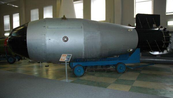 Maketa sovětské jaderné pumy Car-bomba - Sputnik Česká republika
