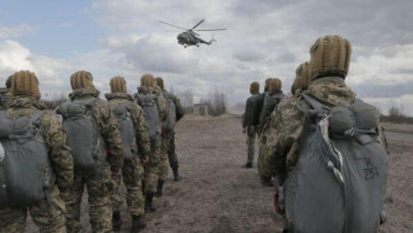 Cvičení ukrajinské armády - Sputnik Česká republika