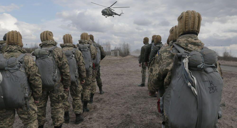Cvičení ukrajinské armády