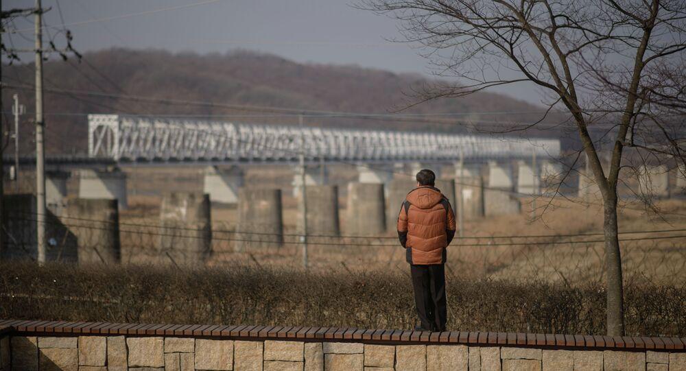 Demarkační linie mezi korejskými státy