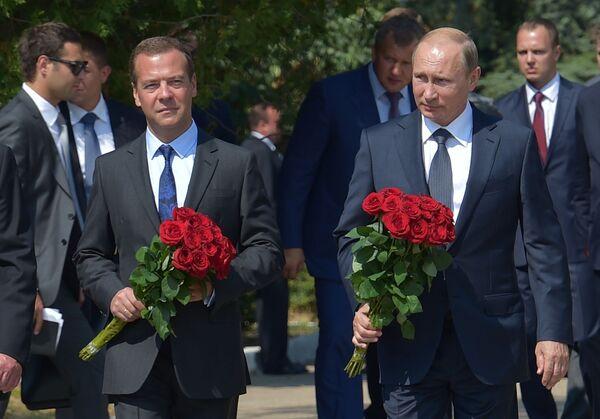Putinova cesta na Krym - Sputnik Česká republika