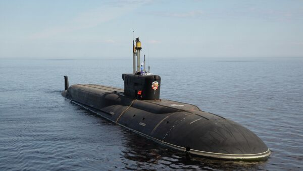 Jaderná ponorka Vladimir Monomach - Sputnik Česká republika