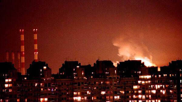 Бомбардировка Белграда силами НАТО - Sputnik Česká republika