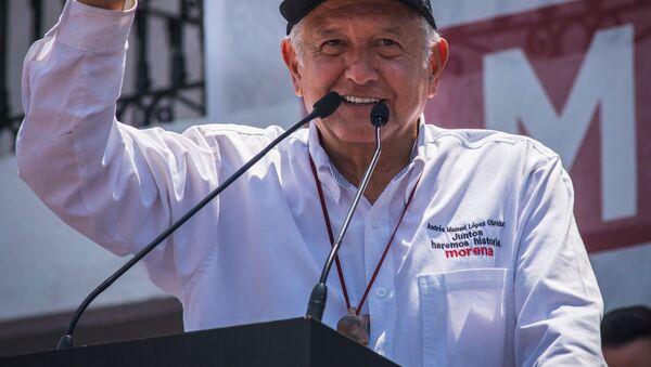Andrés Manuel López Obrador  - Sputnik Česká republika