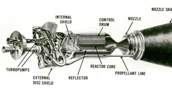 Raketový jaderný motor Nerva - Sputnik Česká republika