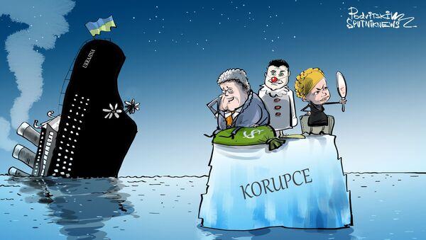 Potopení Ukrajiny - Sputnik Česká republika