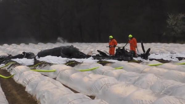 Bylo zveřejněno video z havárie letadla v Německu, při níž zemřela jedna z nejbohatších Rusek (VIDEO) - Sputnik Česká republika
