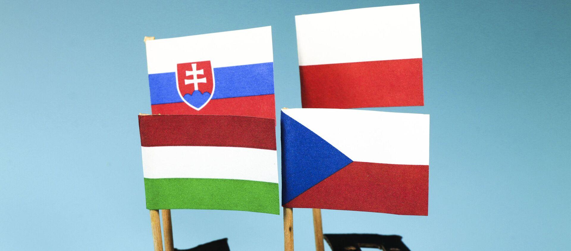 Vlajky V4 - Sputnik Česká republika, 1920, 15.02.2021