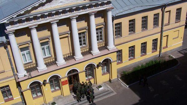 Budova Vojensko-vesmírné akademie A. F. Možajského v Petrohradu - Sputnik Česká republika