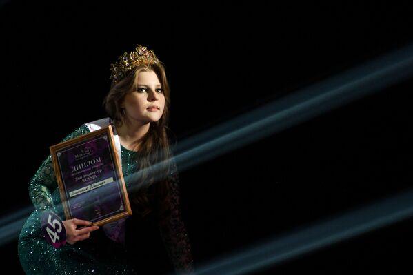 Druhá vicemiss soutěže krásy Miss International Mini 2019 Rusko Anastasia Timonova - Sputnik Česká republika