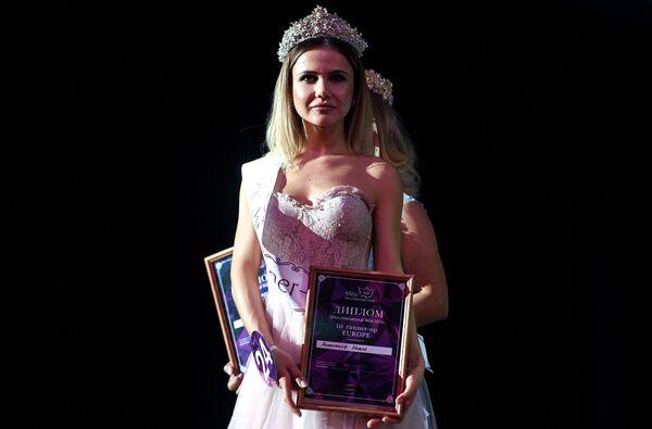 Druhá vicemiss soutěže Miss International Mini 2019 Evropa  Anastasia Novak  - Sputnik Česká republika