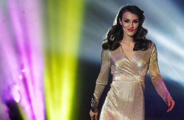 Účastnice během představení ve finále Miss International Mini 2019 - Sputnik Česká republika