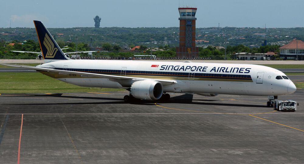 Boeing 787-10 Dreamliner letecké společnosti Singapore Airlines