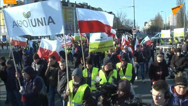 Polské žluté vesty: Zemědělci a střety s vládou - Sputnik Česká republika