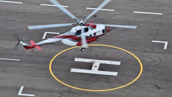 Zkouška vrtulníku Mi-171A2 - Sputnik Česká republika