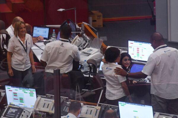 Personál kontroly mise v Guyanském kosmickém centru - Sputnik Česká republika