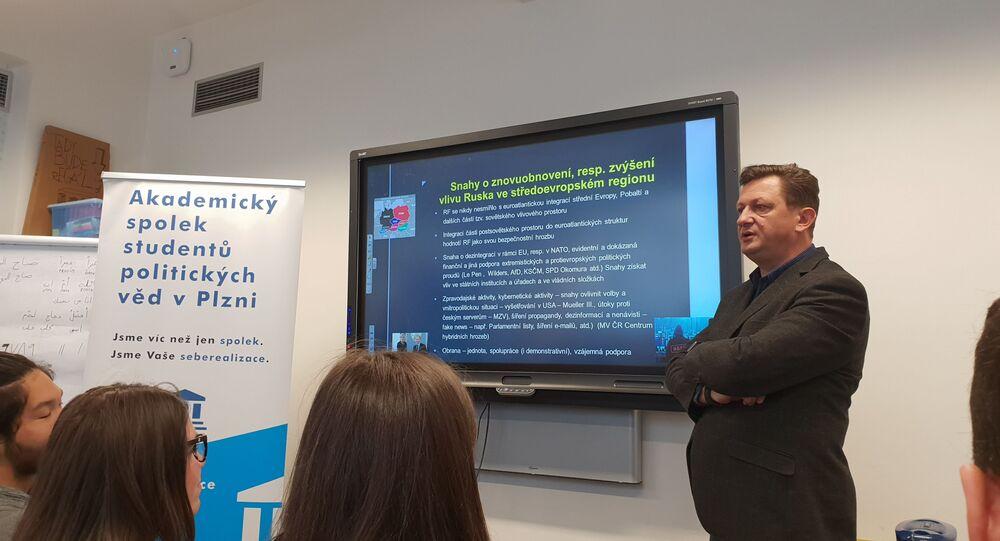 Politická výchova studentů v Plzni