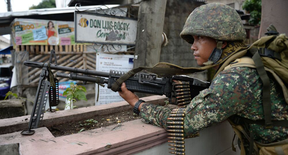 Filipínský voják