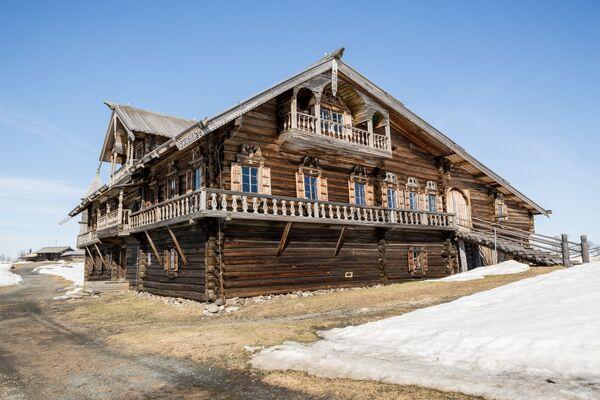 Dům Oševněva na ostrově Kiži - Sputnik Česká republika