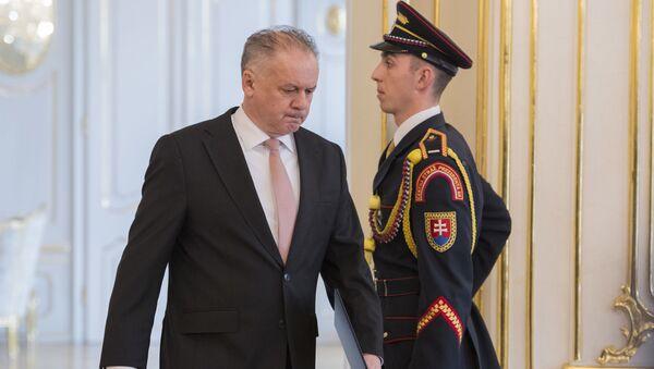 Bývalý slovenský prezident Andrej Kiska - Sputnik Česká republika