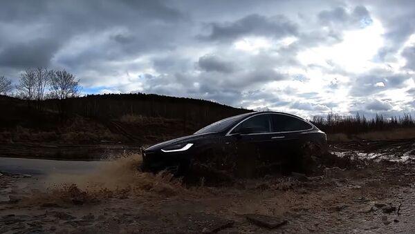 Tesla Model X OFFROAD SPECIAL 2 - Sputnik Česká republika