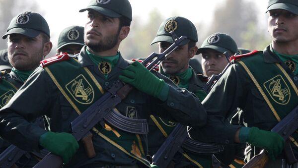 Íránské revoluční gardy - Sputnik Česká republika