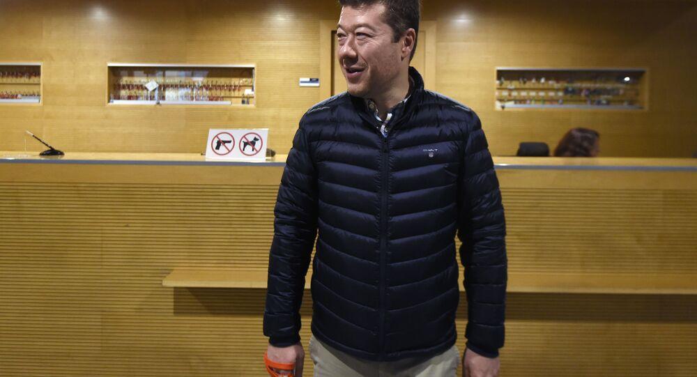 Předseda SPD Tomio Okamura