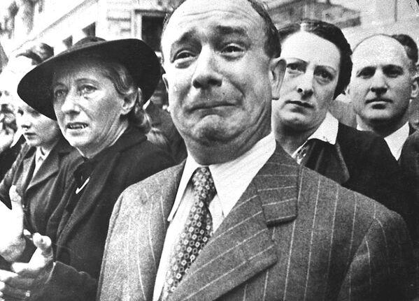 Francouzi ve městě Marseille během okupace, 1941 - Sputnik Česká republika