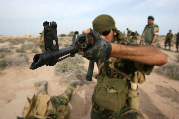 Speciální jednotky IRGC během vojenských cvičení - Sputnik Česká republika