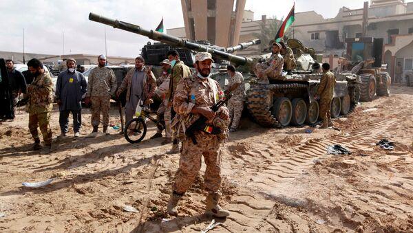 Libyjská armáda - Sputnik Česká republika